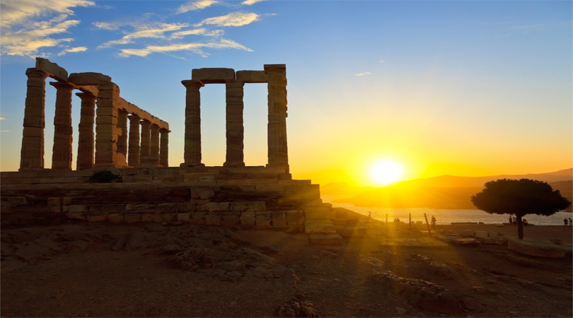 cape sounio greece