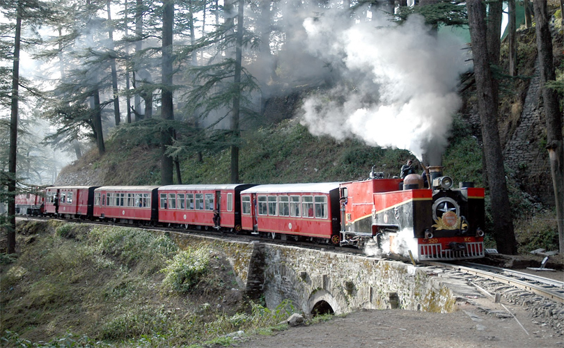 kalka to shimla train tour