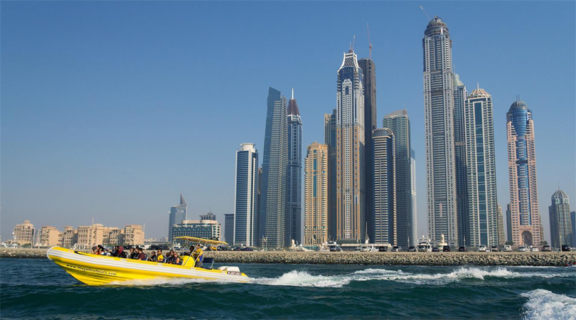 yellow boat dubai