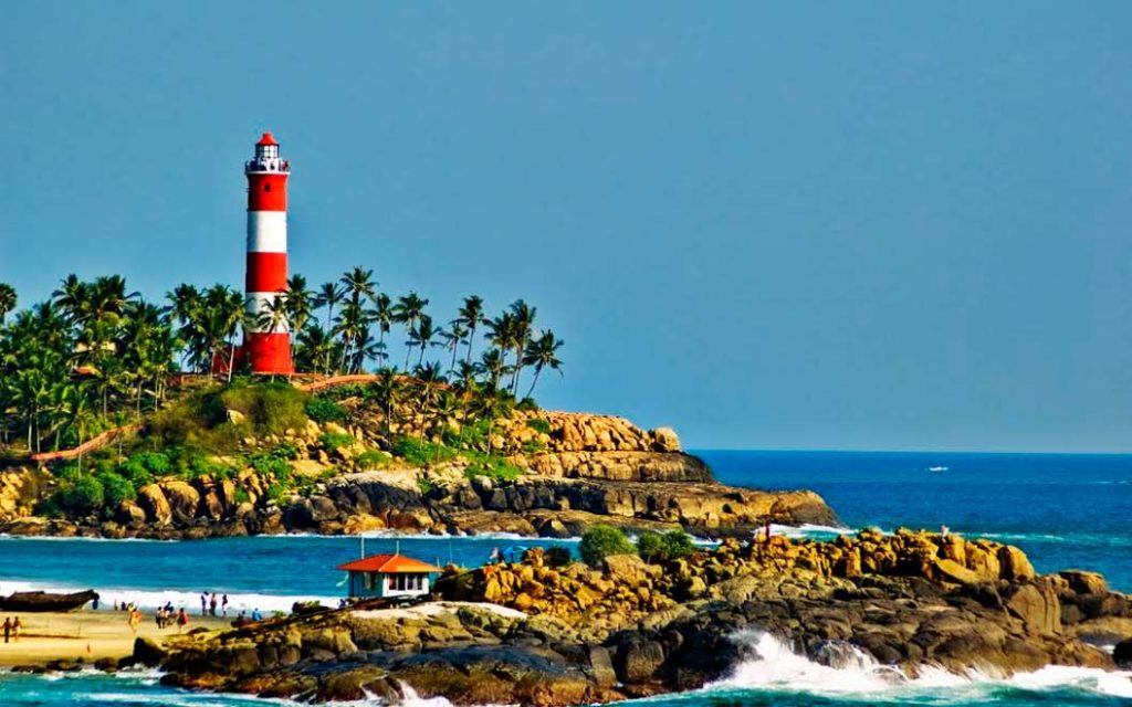 Honeymoon in Kovalam